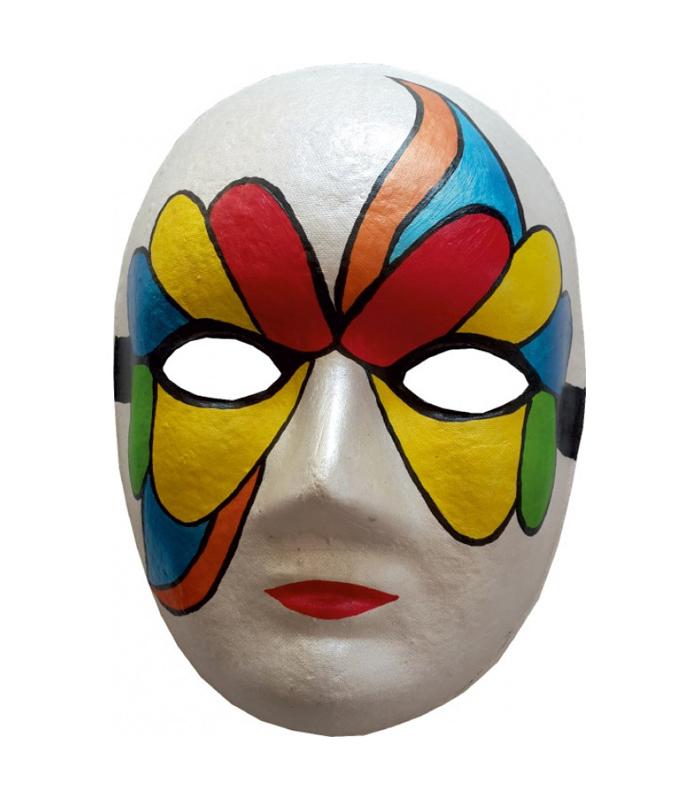 Karton Maske Boyama Boyama Lisanslimarka
